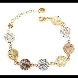 San Benito bracelet Gold Plated